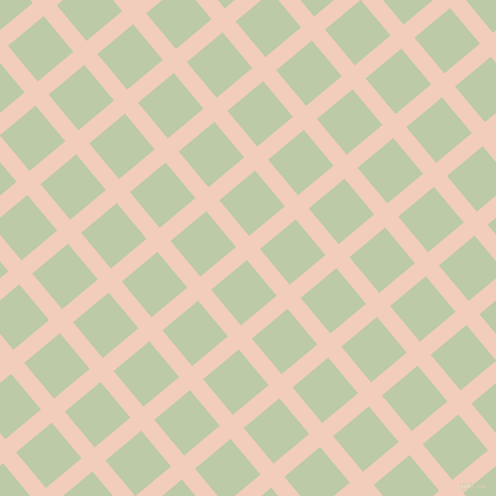 40/130 degree angle diagonal checkered chequered lines, 24 pixel lines width, 66 pixel square size, Watusi and Pale Leaf plaid checkered seamless tileable