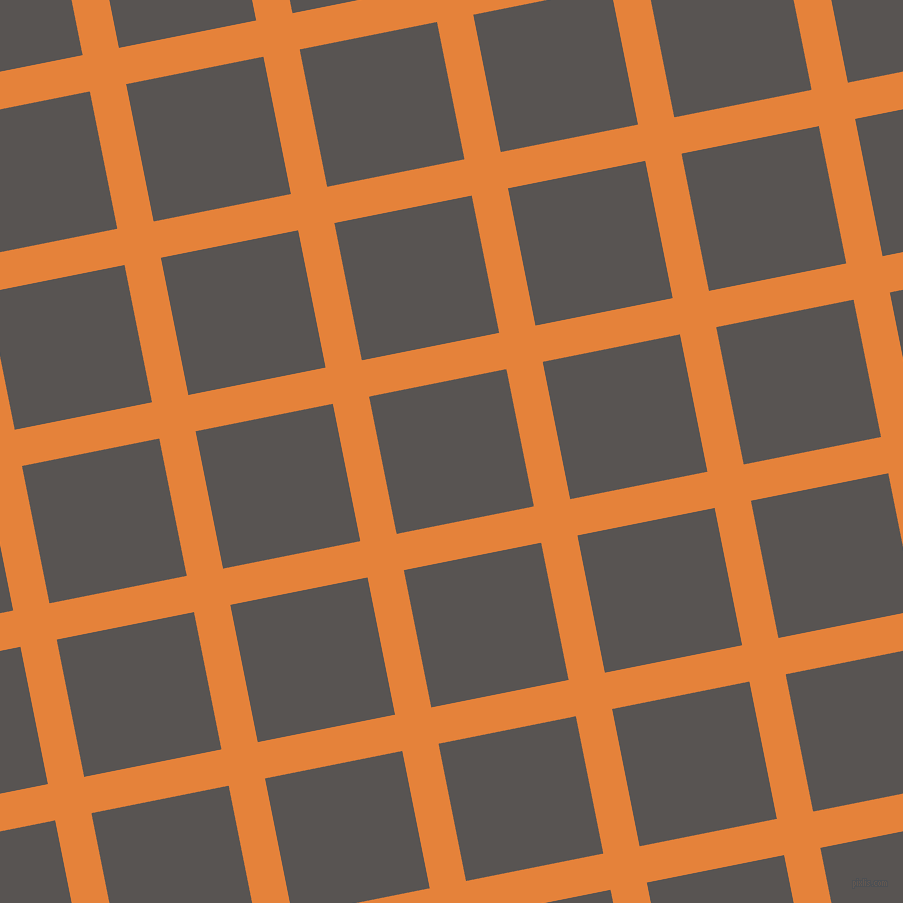 11/101 degree angle diagonal checkered chequered lines, 37 pixel lines width, 140 pixel square size, West Side and Tundora plaid checkered seamless tileable