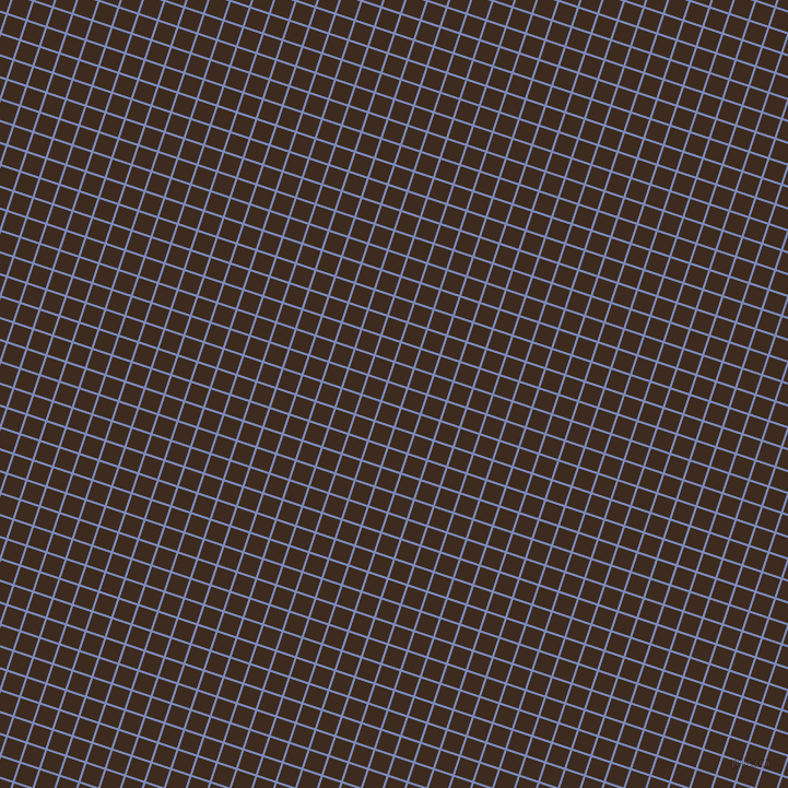 72/162 degree angle diagonal checkered chequered lines, 2 pixel line width, 17 pixel square size, Wild Blue Yonder and Bistre plaid checkered seamless tileable