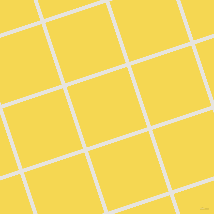 18/108 degree angle diagonal checkered chequered lines, 16 pixel line width, 259 pixel square size, Wild Sand and Energy Yellow plaid checkered seamless tileable