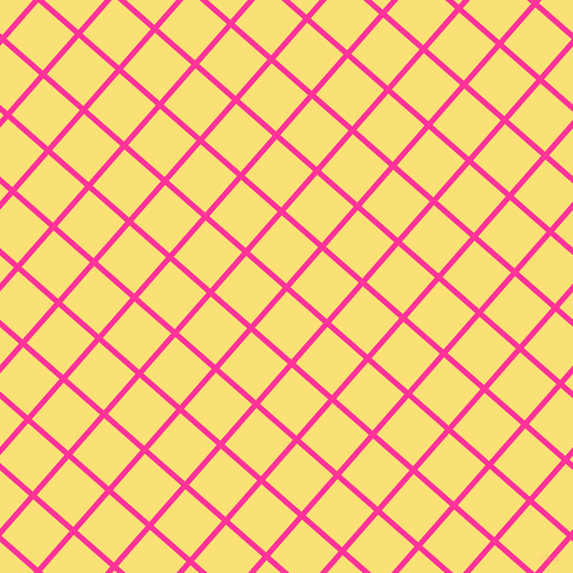 49/139 degree angle diagonal checkered chequered lines, 8 pixel lines width, 70 pixel square size, Wild Strawberry and Sweet Corn plaid checkered seamless tileable