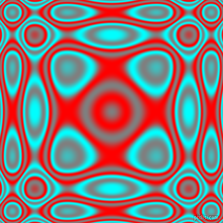 , Aqua and Red plasma wave seamless tileable