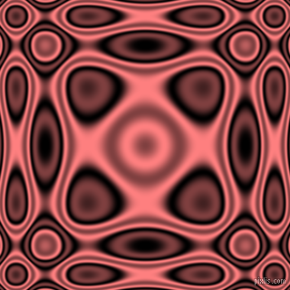 , Black and Salmon plasma wave seamless tileable