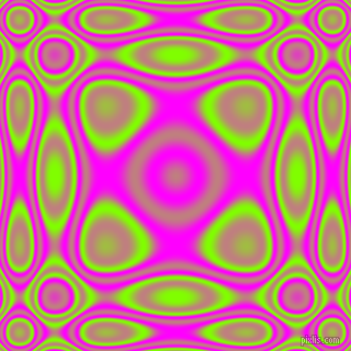 , Chartreuse and Magenta plasma wave seamless tileable