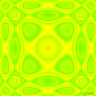 Chartreuse and Yellow plasma wave seamless tileable