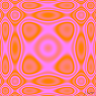 , Dark Orange and Fuchsia Pink plasma wave seamless tileable