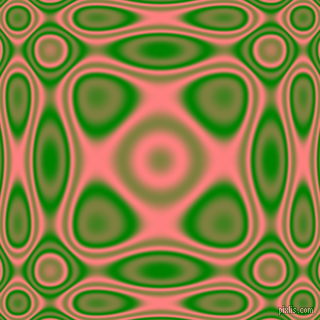 , Green and Salmon plasma wave seamless tileable
