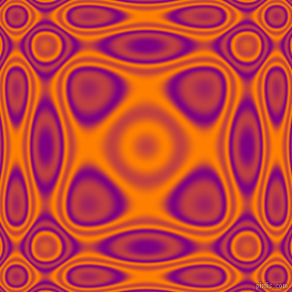 , Purple and Dark Orange plasma wave seamless tileable
