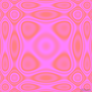 , Salmon and Fuchsia Pink plasma wave seamless tileable