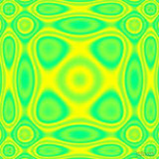 , Spring Green and Yellow plasma wave seamless tileable