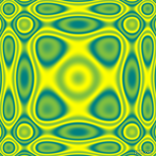 , Teal and Yellow plasma wave seamless tileable