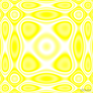 Yellow and White plasma wave seamless tileable
