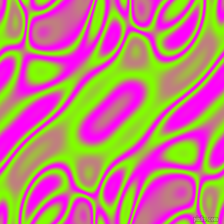 , Chartreuse and Magenta plasma waves seamless tileable