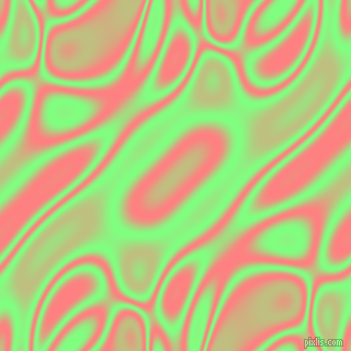, Mint Green and Salmon plasma waves seamless tileable