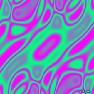 , Spring Green and Magenta plasma waves seamless tileable