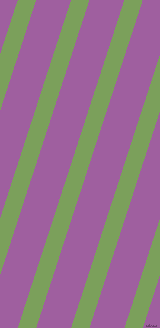 72 degree angle lines stripes, 58 pixel line width, 110 pixel line spacing, Asparagus and Violet Blue stripes and lines seamless tileable