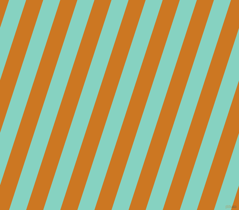 72 degree angle lines stripes, 54 pixel line width, 54 pixel line spacing, Bermuda and Ochre stripes and lines seamless tileable