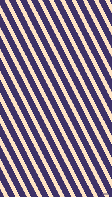 117 degree angle lines stripes, 14 pixel line width, 21 pixel line spacing, Bisque and Minsk stripes and lines seamless tileable