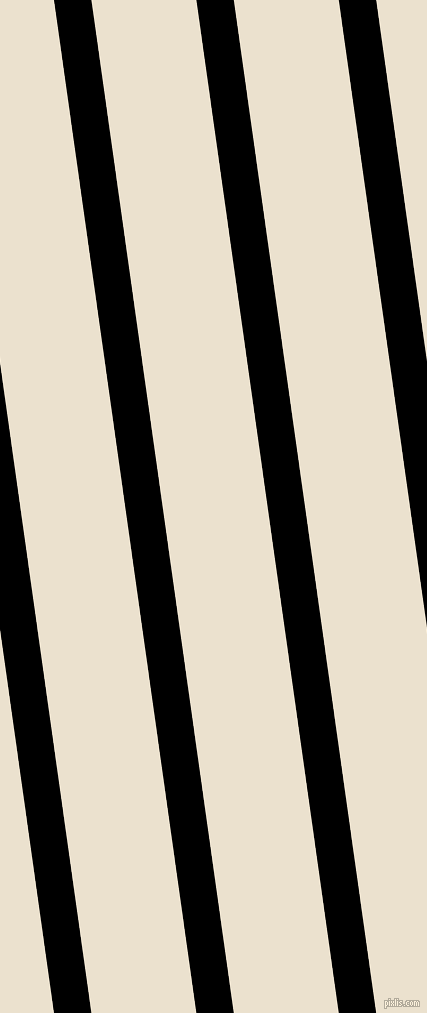98 degree angle lines stripes, 37 pixel line width, 104 pixel line spacing, Black and Bleach White stripes and lines seamless tileable