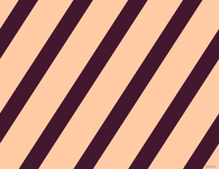 57 degree angle lines stripes, 56 pixel line width, 101 pixel line spacing, Blackberry and Peach stripes and lines seamless tileable