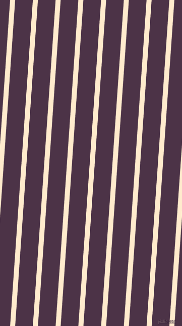 86 degree angle lines stripes, 10 pixel line width, 35 pixel line spacing, Blanched Almond and Loulou stripes and lines seamless tileable