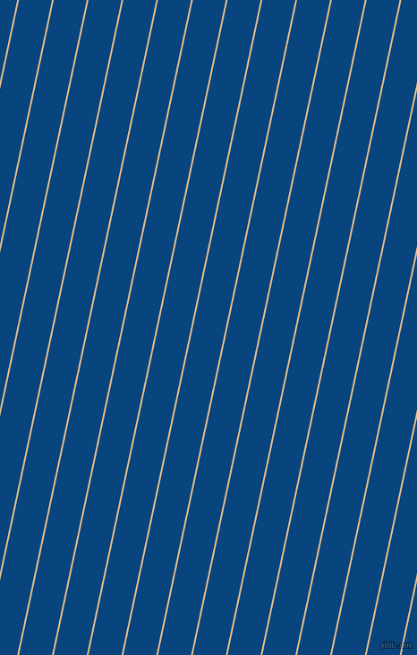 78 degree angle lines stripes, 2 pixel line width, 36 pixel line spacing, Brandy and Dark Cerulean stripes and lines seamless tileable
