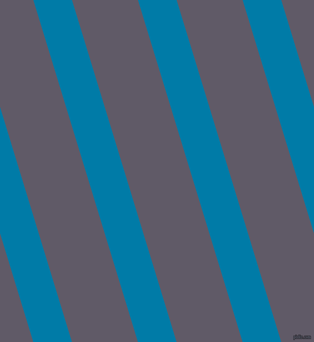 107 degree angle lines stripes, 75 pixel line width, 128 pixel line spacing, Cerulean and Mobster stripes and lines seamless tileable
