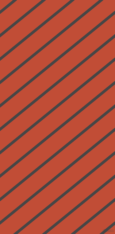 39 degree angle lines stripes, 9 pixel line width, 50 pixel line spacing, Charcoal and Grenadier stripes and lines seamless tileable