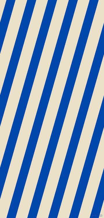 74 degree angle lines stripes, 30 pixel line width, 39 pixel line spacing, Cobalt and Pearl Lusta stripes and lines seamless tileable