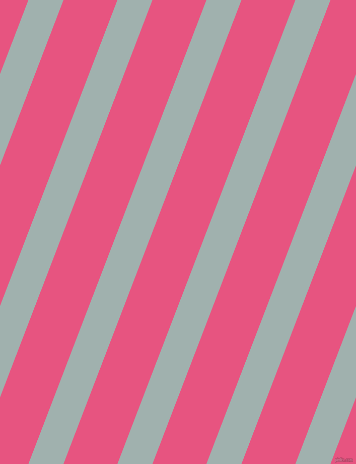 69 degree angle lines stripes, 65 pixel line width, 100 pixel line spacing, Conch and Dark Pink stripes and lines seamless tileable