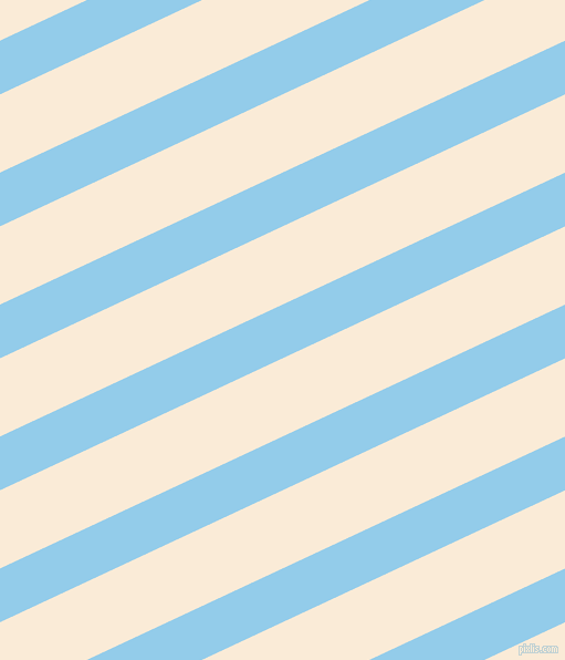 25 degree angle lines stripes, 44 pixel line width, 64 pixel line spacing, Cornflower and Antique White stripes and lines seamless tileable
