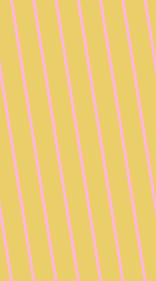 99 degree angle lines stripes, 10 pixel line width, 60 pixel line spacing, Cotton Candy and Golden Sand stripes and lines seamless tileable