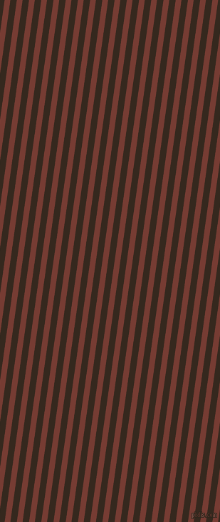 82 degree angle lines stripes, 8 pixel line width, 9 pixel line spacing, Crown Of Thorns and Cocoa Brown stripes and lines seamless tileable