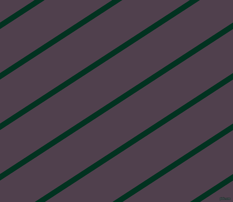 33 degree angle lines stripes, 18 pixel line width, 121 pixel line spacing, Dark Green and Purple Taupe stripes and lines seamless tileable