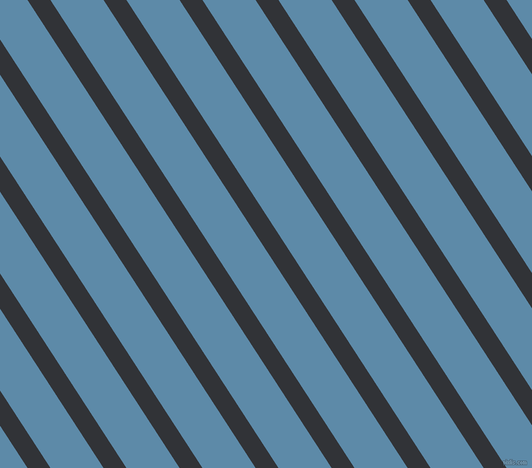 123 degree angle lines stripes, 28 pixel line width, 65 pixel line spacing, Ebony and Air Force Blue stripes and lines seamless tileable