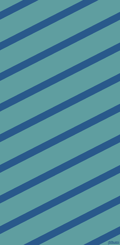 27 degree angle lines stripes, 23 pixel line width, 66 pixel line spacing, Endeavour and Cadet Blue stripes and lines seamless tileable