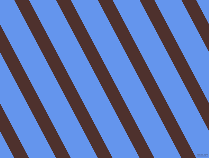 118 degree angle lines stripes, 43 pixel line width, 79 pixel line spacing, Espresso and Cornflower Blue stripes and lines seamless tileable