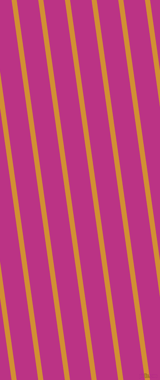 98 degree angle lines stripes, 10 pixel line width, 42 pixel line spacing, Fuel Yellow and Red Violet stripes and lines seamless tileable