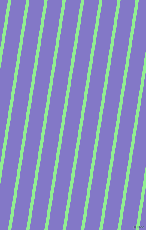 81 degree angle lines stripes, 11 pixel line width, 49 pixel line spacing, Light Green and Moody Blue stripes and lines seamless tileable