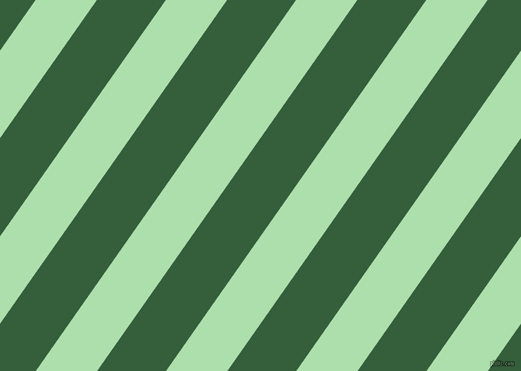 55 degree angle lines stripes, 73 pixel line width, 82 pixel line spacing, Moss Green and Hunter Green stripes and lines seamless tileable