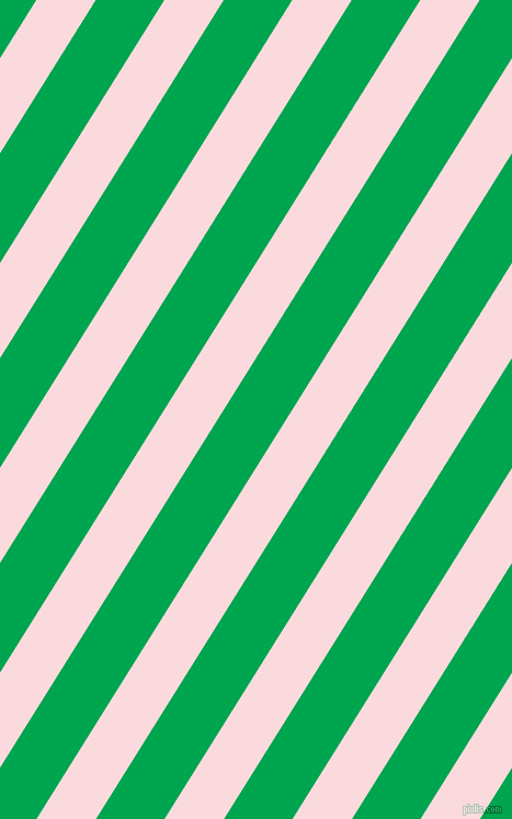 58 degree angle lines stripes, 46 pixel line width, 53 pixel line spacing, Pale Pink and Pigment Green stripes and lines seamless tileable
