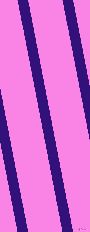 101 degree angle lines stripes, 36 pixel line width, 118 pixel line spacing, Persian Indigo and Pale Magenta stripes and lines seamless tileable