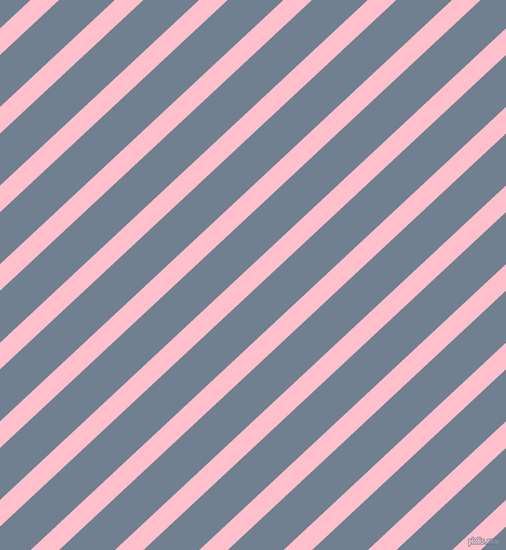 43 degree angle lines stripes, 22 pixel line width, 43 pixel line spacing, Pink and Slate Grey stripes and lines seamless tileable