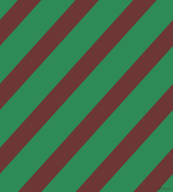 48 degree angle lines stripes, 57 pixel line width, 83 pixel line spacingSanguine Brown and Sea Green stripes and lines seamless tileable