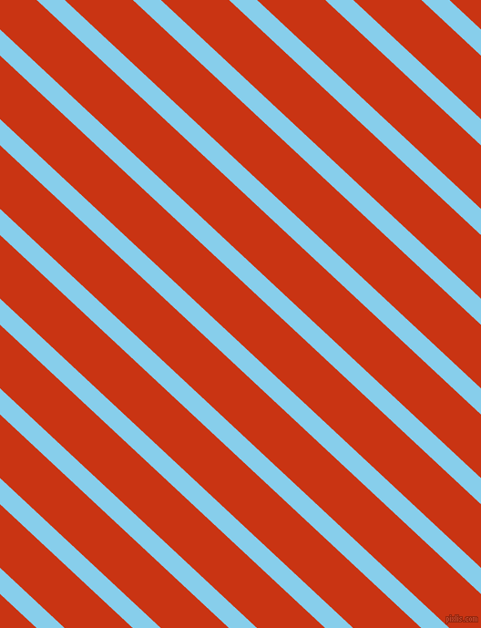 137 degree angle lines stripes, 21 pixel line width, 51 pixel line spacing, Sky Blue and Harley Davidson Orange stripes and lines seamless tileable