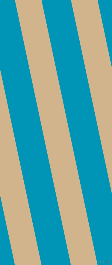 102 degree angle lines stripes, 87 pixel line width, 96 pixel line spacing, Tan and Bondi Blue stripes and lines seamless tileable