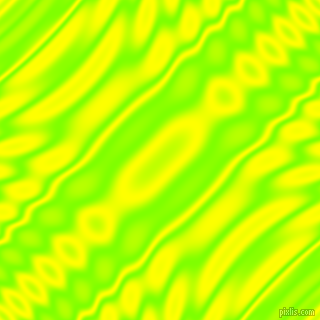 , Chartreuse and Yellow wavy plasma ripple seamless tileable